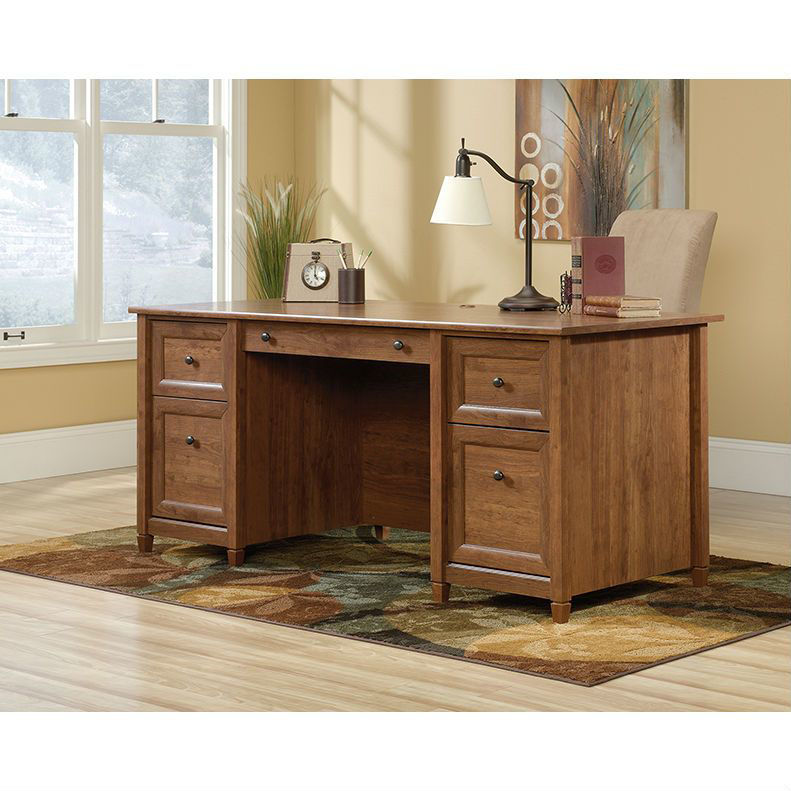 Picture of Edge Water Executive Desk - Cherry