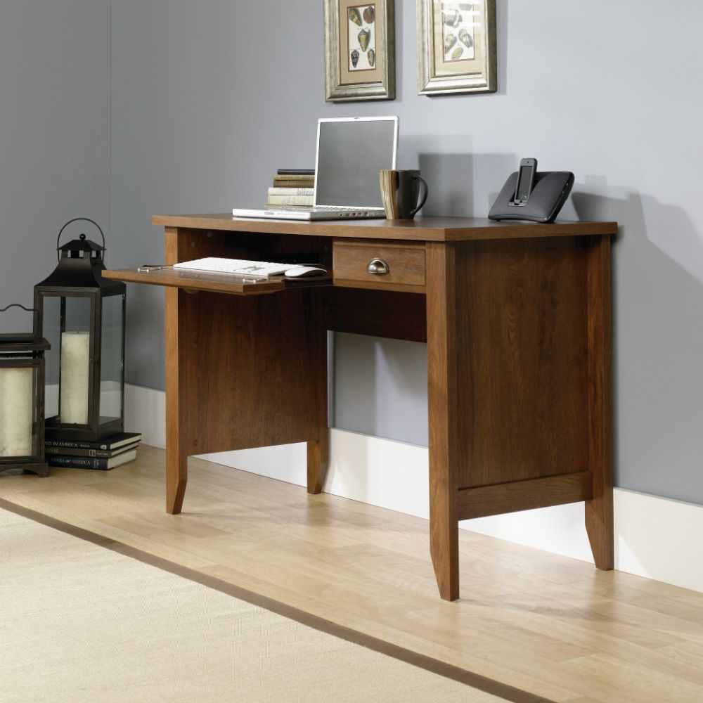 Picture of Shoal Creek Computer Desk - Oiled Oak