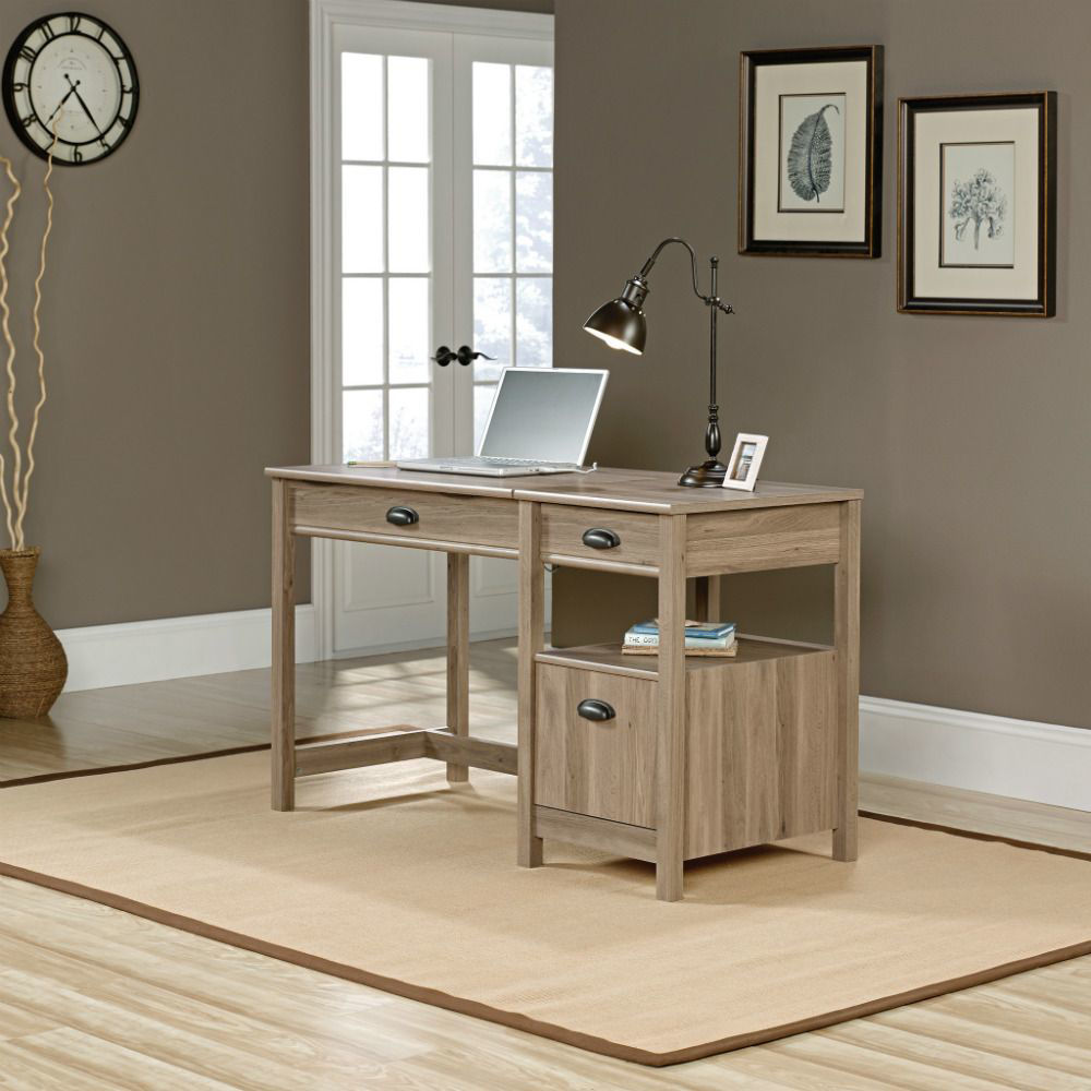 Harbor View Lift Top Desk - Salt Oak