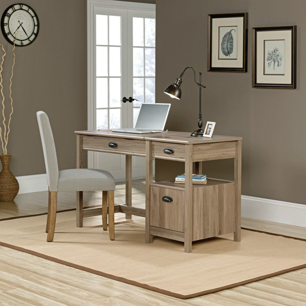 Picture of Harbor View Lift Top Desk - Salt Oak