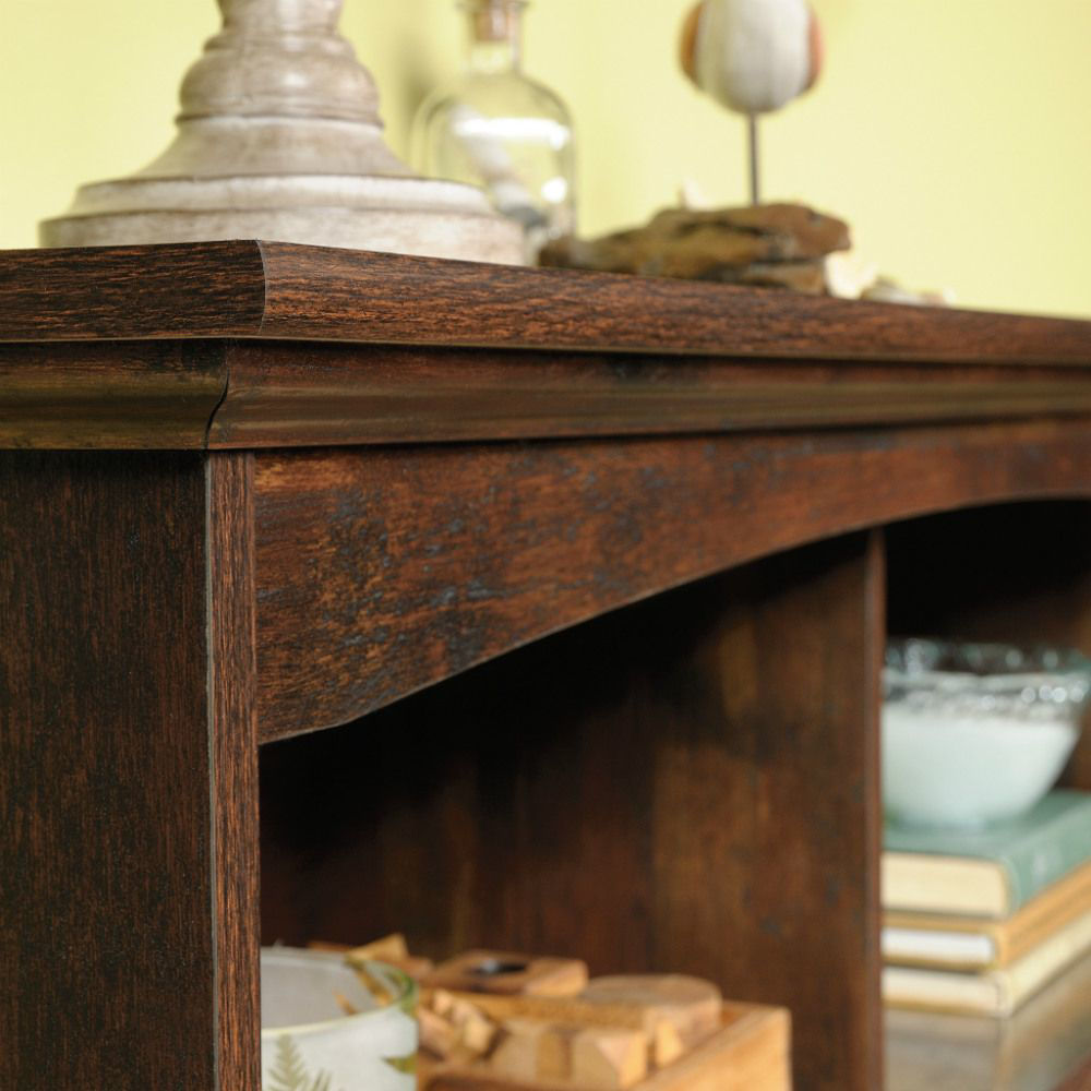 Picture of Harbor View Bin Bookcase - Cherry