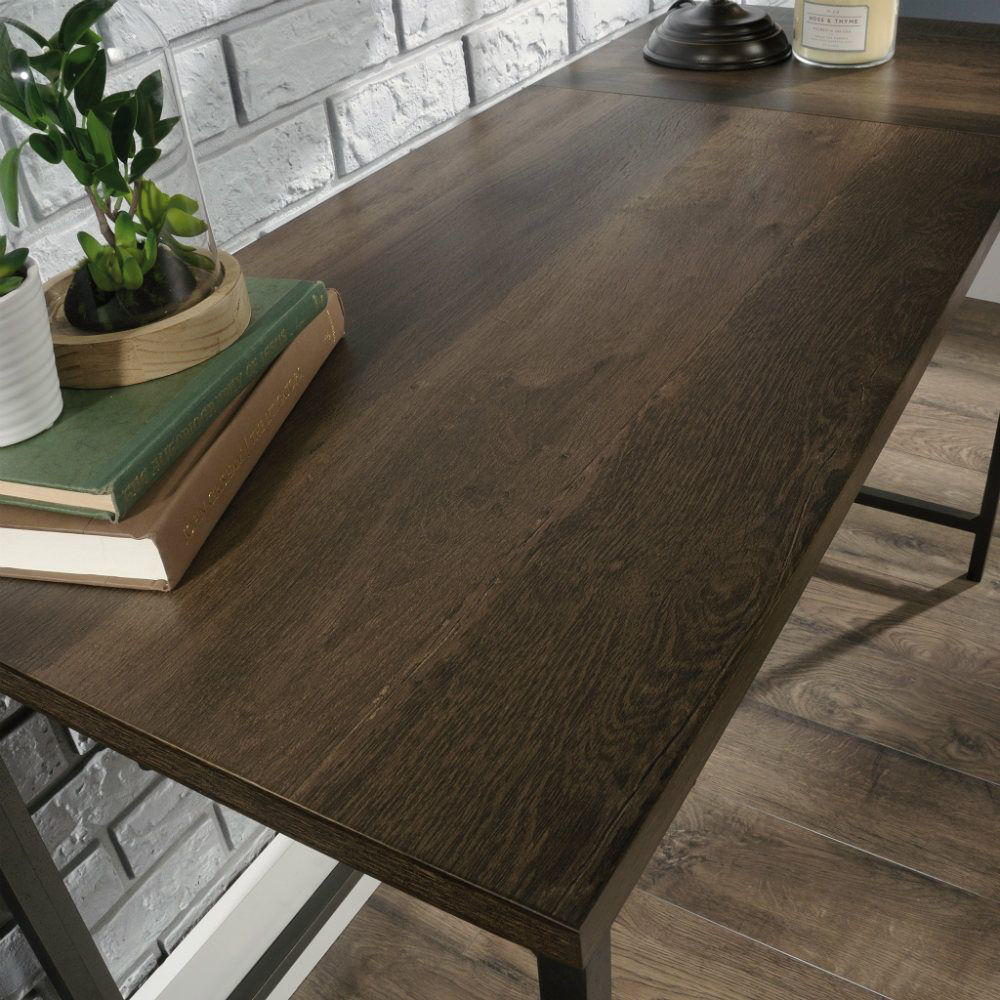 Picture of North Avenue L-Desk - Smoked Oak