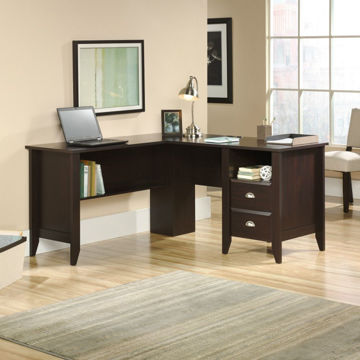 Shoal Creek L-Desk - Jamocha