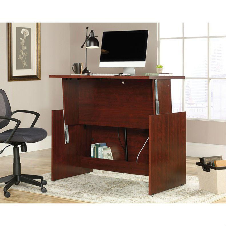 Picture of Cherry Sit Stand Desk
