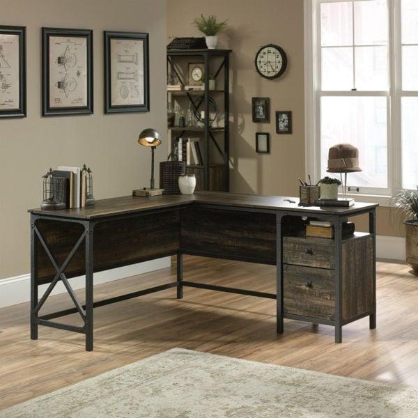 Steel River L-Desk