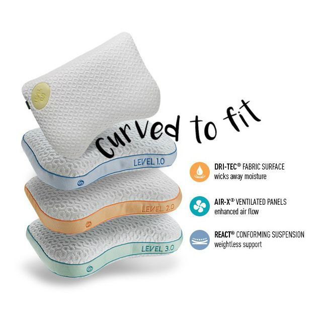 Level Pillows by Bedgear