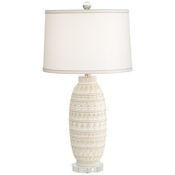 Cullen Beige Almond Table Lamp