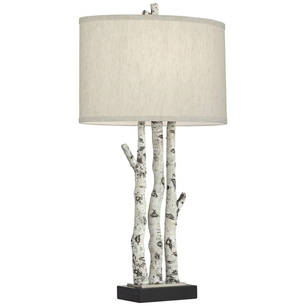 Picture of White Forest Table Lamp
