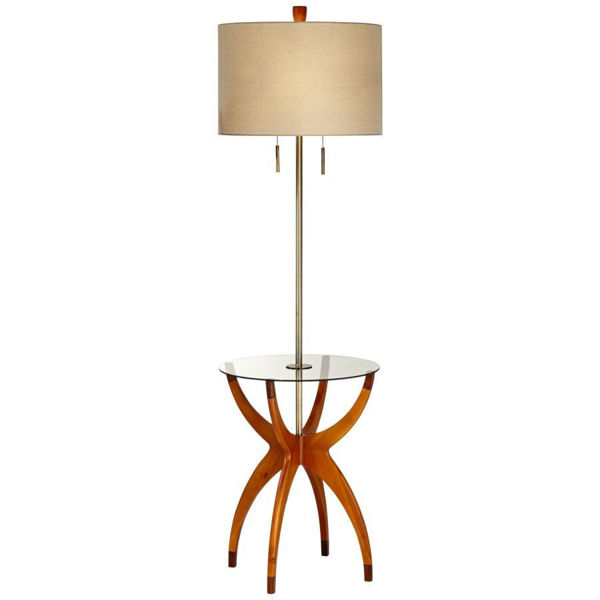 Vanguard Floor Lamp with Table