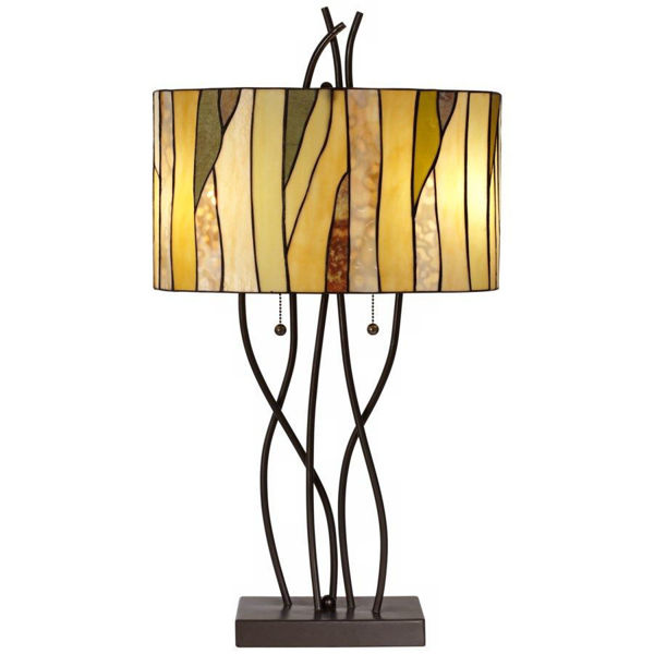 Picture of Oak Vine Table Lamp