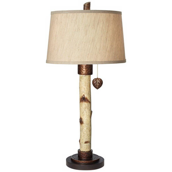 Birch Tree Table Lamp