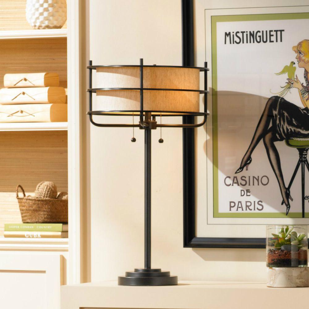 Ovation Table Lamp - Lifestyle