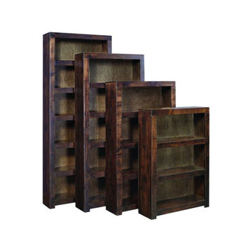 "Picture of Tribeca 60"" Bookcase - Cafe Brown"