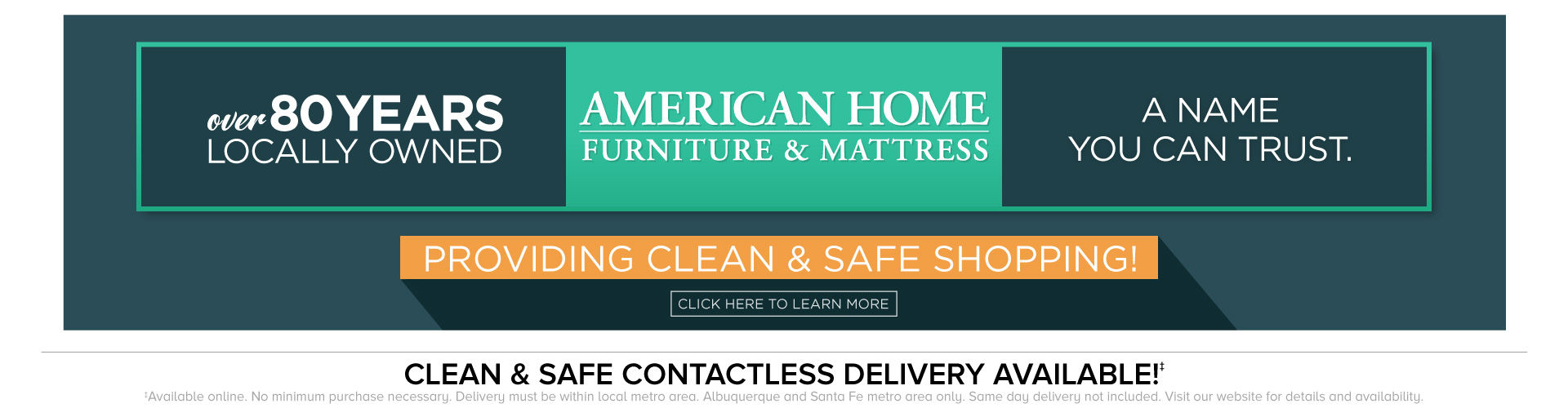 American Home A Name You Can Trust