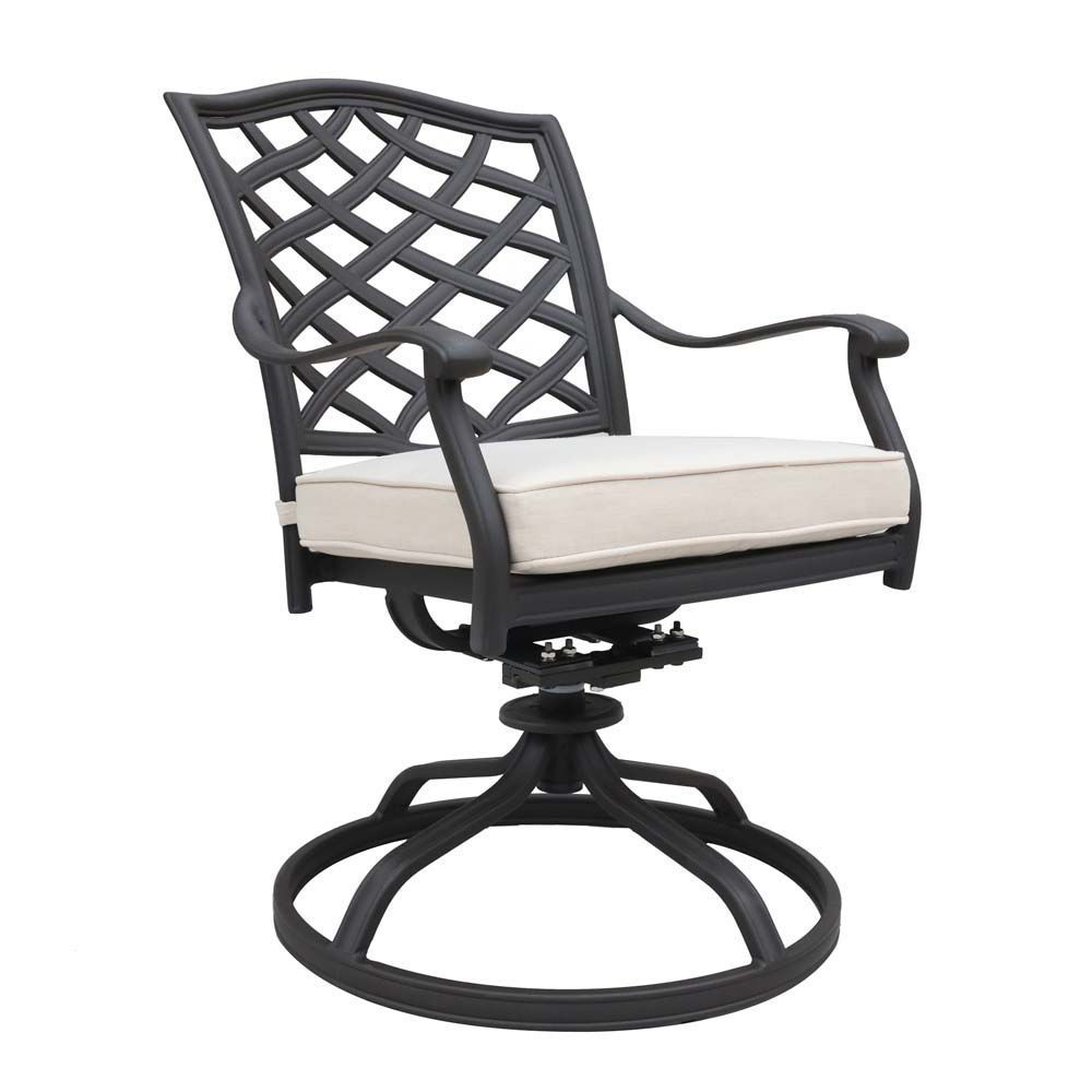 Paseo Outdoor Dining Swivel Chair