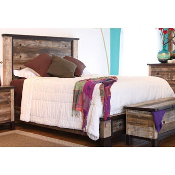 Picture of Antique Bed - King