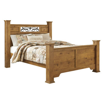 Picture of Carmel Panel Bed - Queen