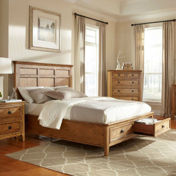 Picture of Alta Bedroom Storage Bed - Queen