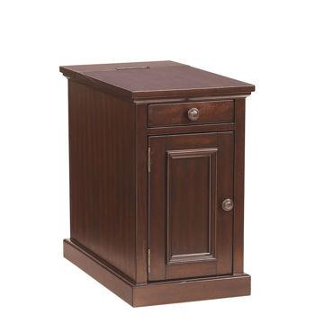 Laflorn Chair Side Table - Sable