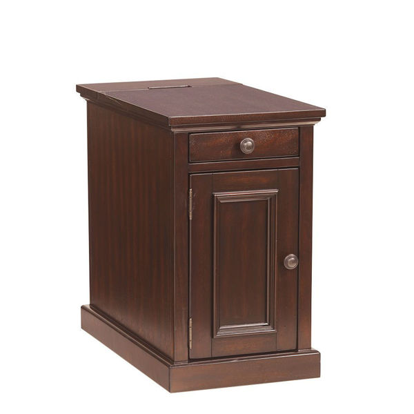 Picture of Guilder Chairside Cabinet - Sable
