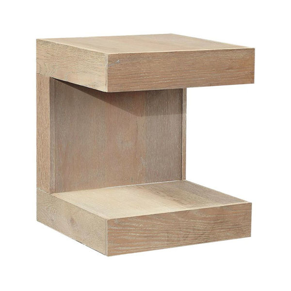 Marcel End Table - English Taupe