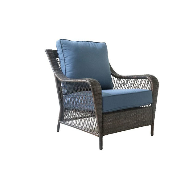 Reno Outdoor Wicker Club Chair with Cushions
