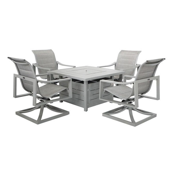 Vail Outdoor Fire Pit Set