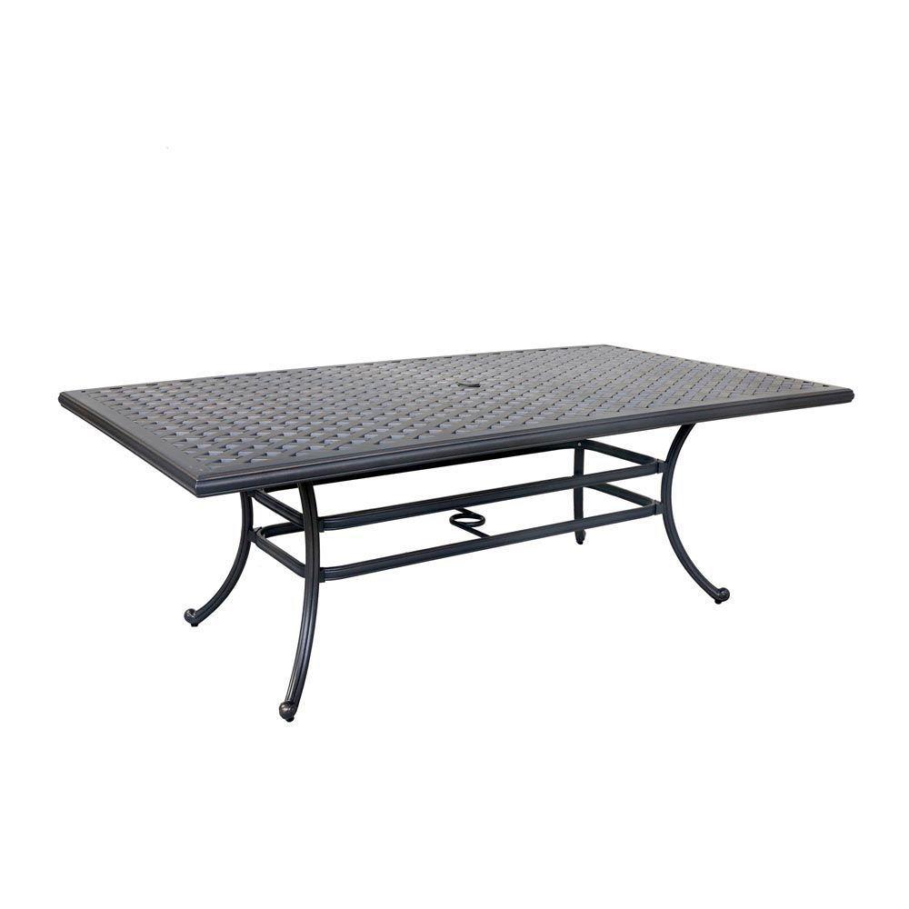 Silver Outdoor Table