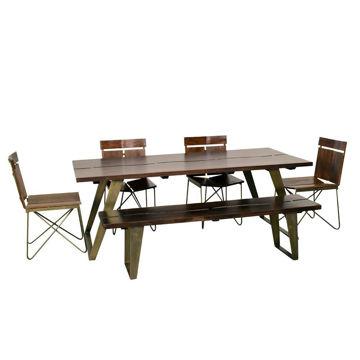 Planck 5-Piece Dining Set