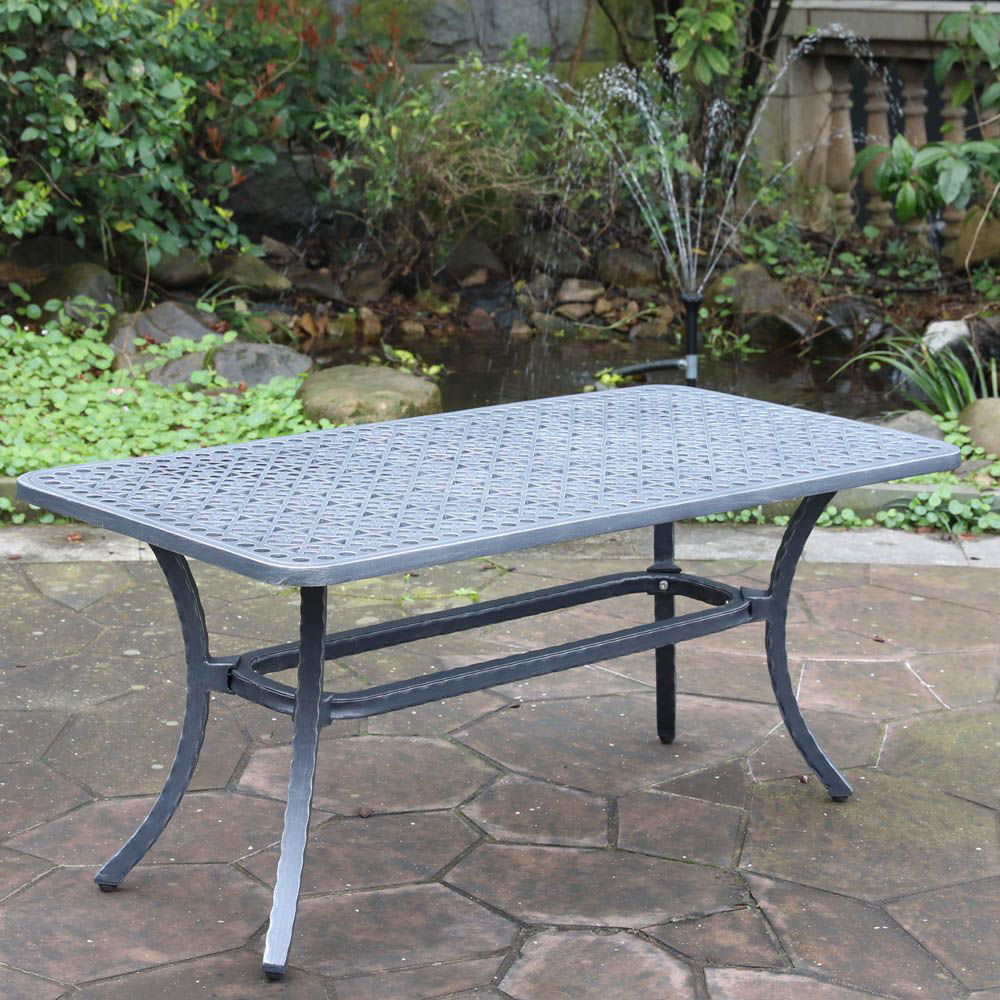 Artesia Outdoor Coffee Table - Alt