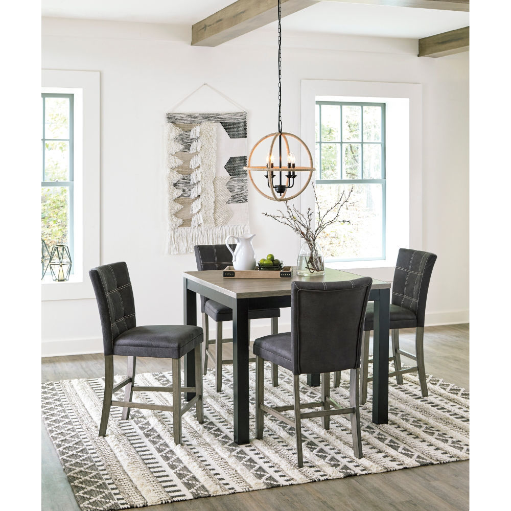 Plano 5-Piece Counter Height Set - Lifestyle