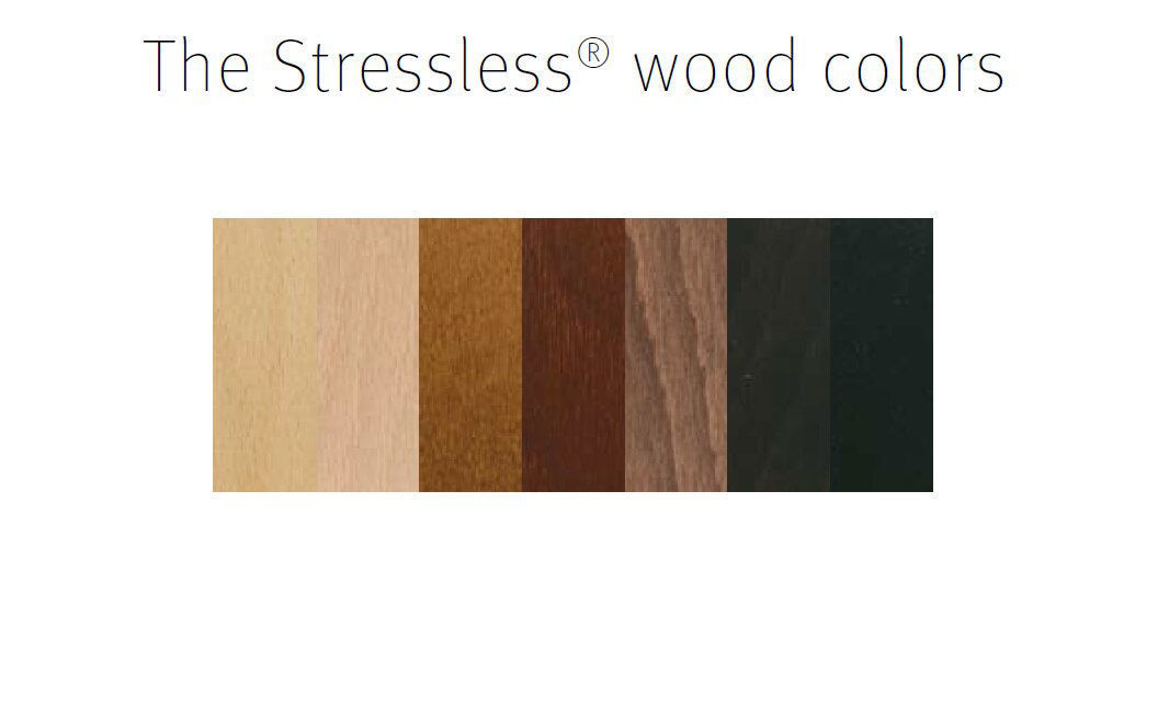 Stressless Wood Options