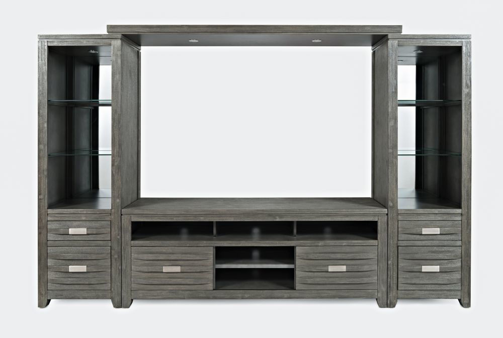 "Picture of Alta Entertainment Wall w/60"" Console - Gray"