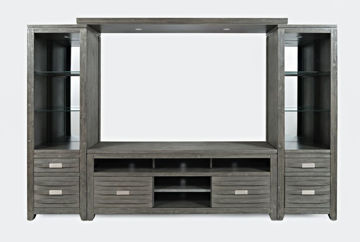 """Picture of Alta Entertainment Wall w/60"""" Console - Gray"""