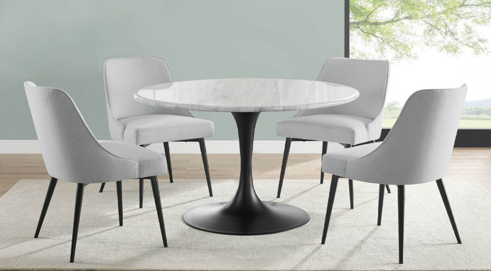 Picture of Colfax Round Marble Table