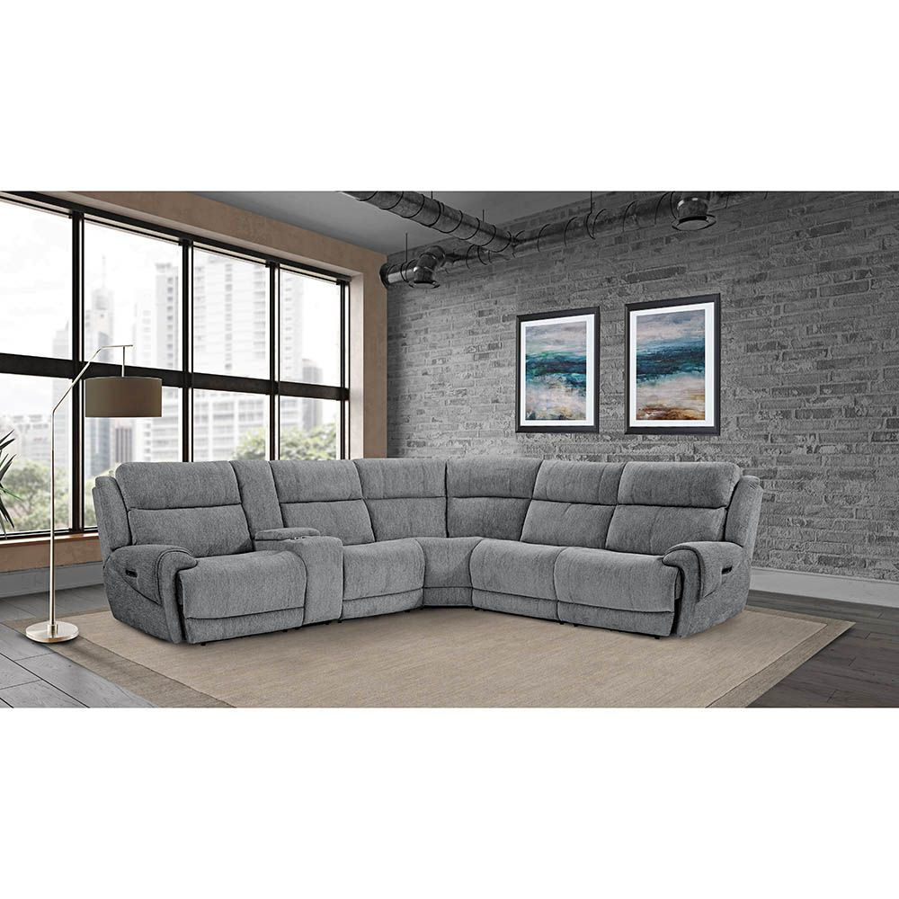 Spiro 6 Piece Sectional - Tide Graphite - Lifestyle