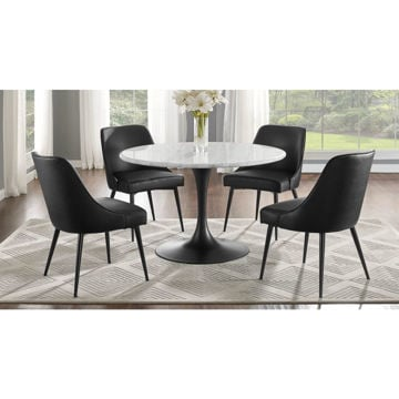 Picture of Colfax 5-Piece Dining Set - Black