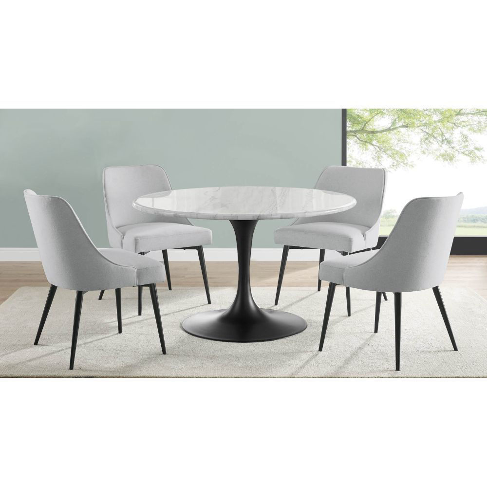 Picture of Colfax 5-Piece Dining Set - White