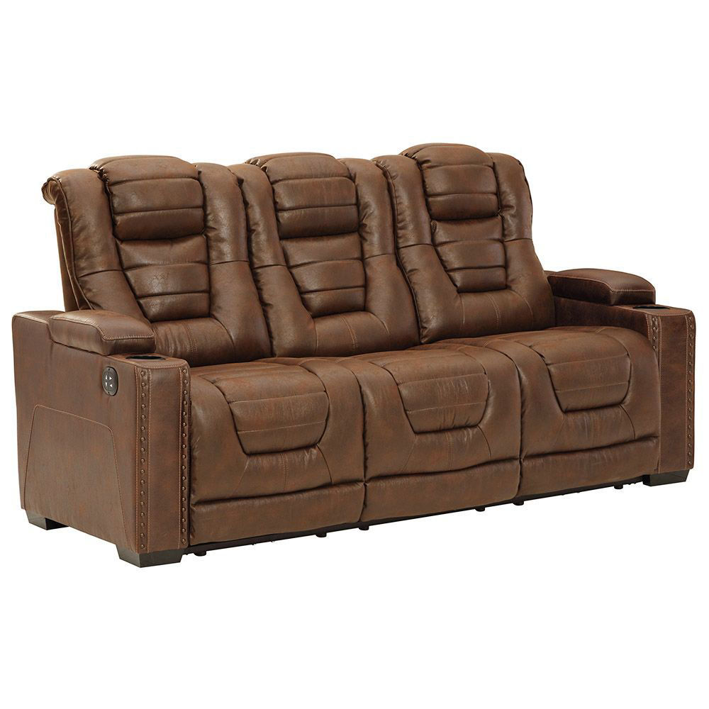 Owen Power Reclining Sofa With Power Headrest