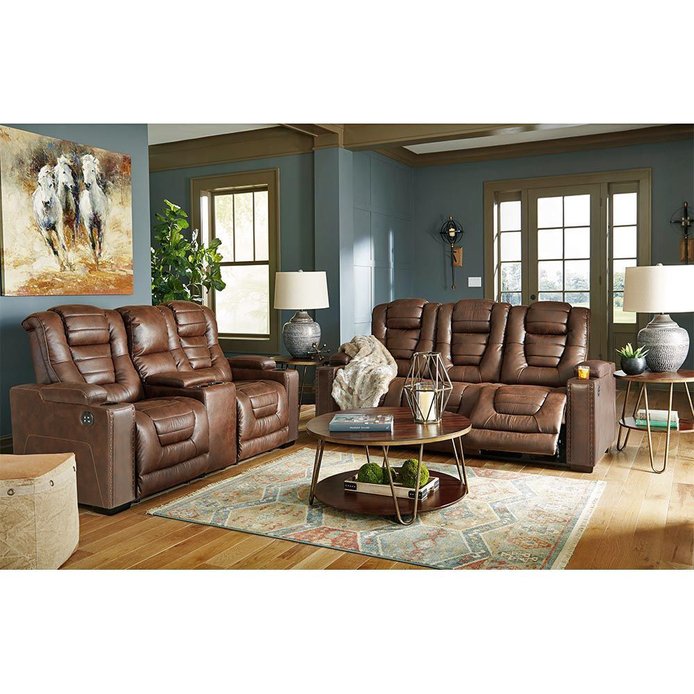Owen Power Reclining Sofa With Power Headrest - Loveseat Sold Separately