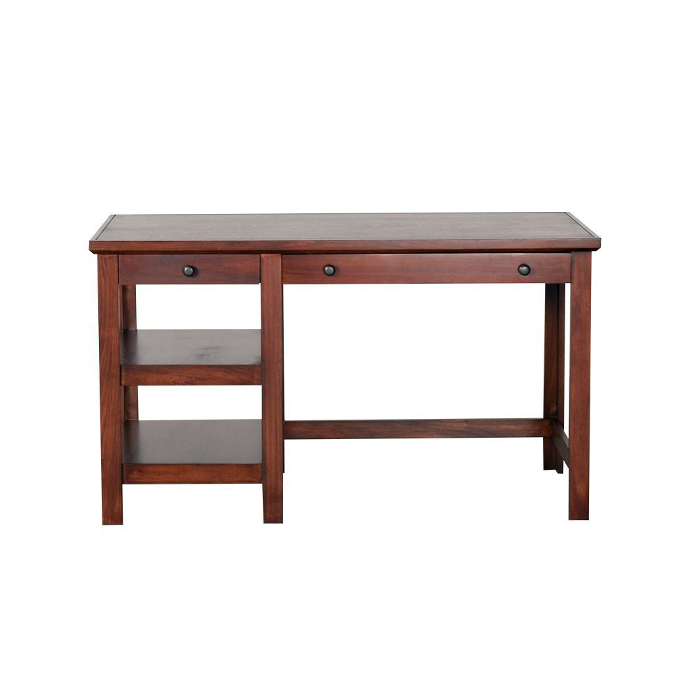 """54"""" Cherry Writing Desk - Front"""