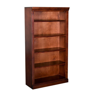 "60"" Cherry Bookcase"