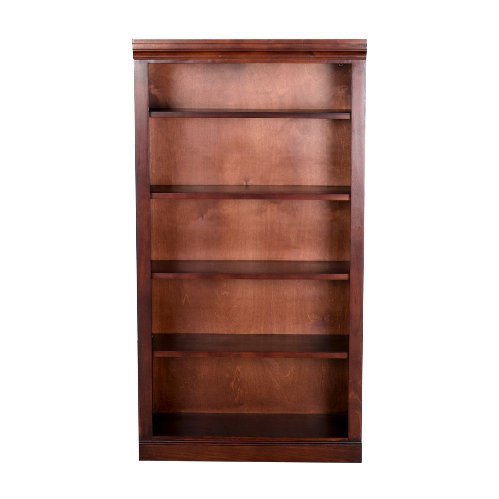 "60"" Cherry Bookcase - front"
