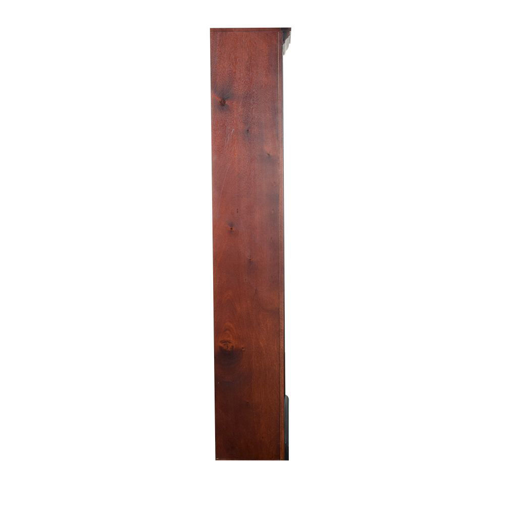 """72"""" Cherry Bookcase - Side"""