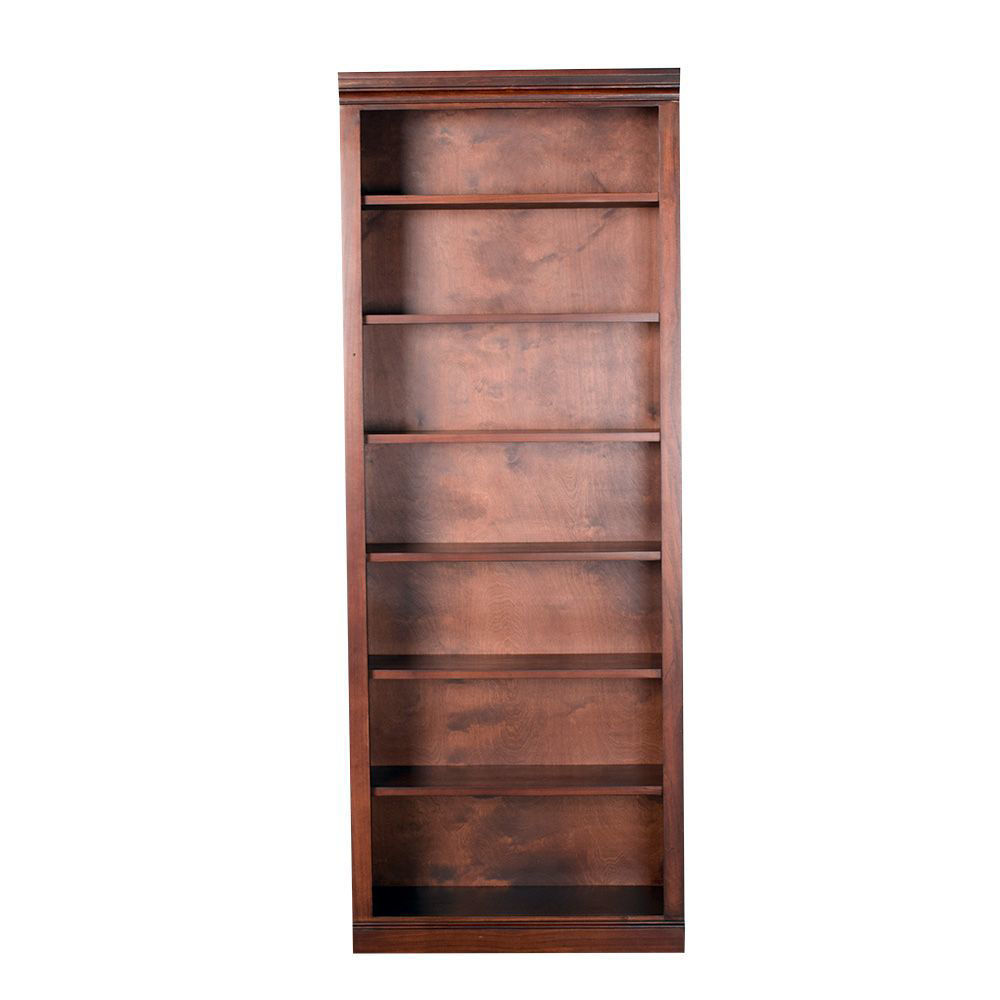 """84"""" Cherry Bookcase - front"""