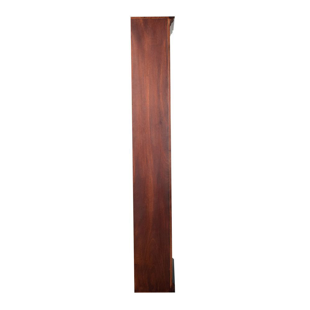 """84"""" Cherry Bookcase - side"""