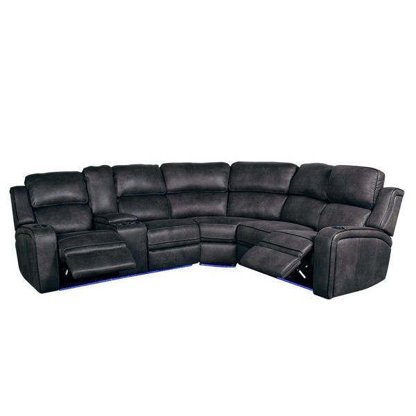 Picture of Drift 3-Piece Power Reclining Sectional