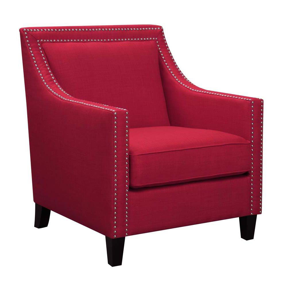 Erica Accent Chair - Berry