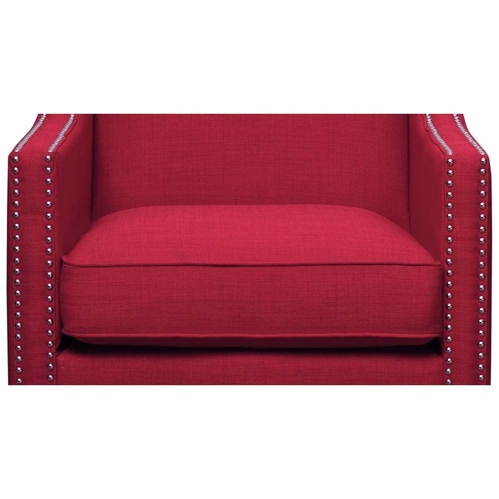 Erica Accent Chair - Berry - Cushion