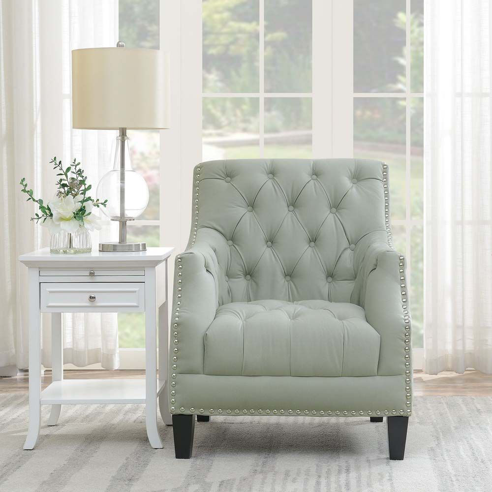 Norway Accent Chair - Pumice - Lifestyle